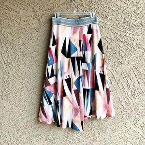 ANTHRO VANESSA VIRGINIA Marino Wrap Knit Skirt